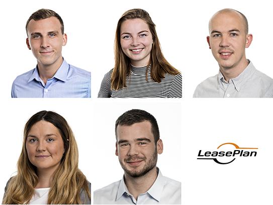 Mød LeasePlans nye medarbejdere