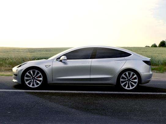 Mød den nye Tesla Model 3