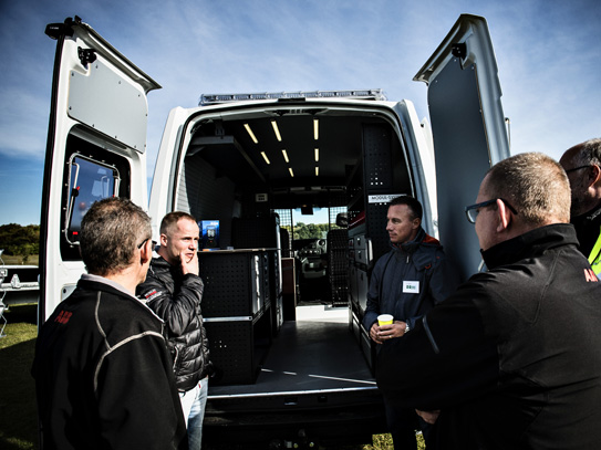 Varebiler i fokus: LeasePlan inviterede kunderne tæt på de nyeste varebiler